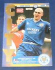 LEICESTER CITY HOME PROGRAMMES 1994-1995