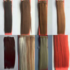 "Womens Hot 12""-22"" 100gr Weft Yaki Synthetic Hair Extensions Hairpiece Straight"