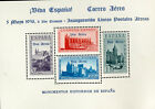 Spain Stamps # B108E with Air Mail overprint for Air Service Rare XF OG NH