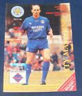 LEICESTER CITY HOME PROGRAMMES 1992-1993