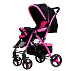 New Baby Stroller Travel System Pram Infant Carriage All Terrain Pushchair Buggy