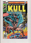 MARVEL COMICS KULL THE CONQUEROR #16 AUG 1976 VG