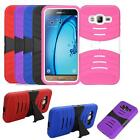 Phone Case For Samsung Galaxy Express 3 4g LTE Heavy Duty Cover Kickstand