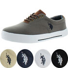 U.S. Polo Assn Skip Men's Canvas Fashion Sneakers Boat Shoes