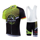 Summer Cycling jerseys Outdoor Bicycle bib short pants short sleeve Jersey sets