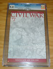 Civil War #7 CGC 9.4 michael turner 1:75 variant - captain america vs iron man