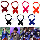 Fashion Women Men Adjustable Cross Bow Tie Solid Color Wedding Party