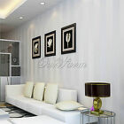 New! 10M Art Non-woven Lines Stripes Wallpaper Rolls Nice Home Living Room Decor