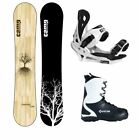 New 2016 Camp Seven Roots RCR  +Summit Bindings +APX Mens Boot Snowboard Package