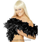 A722 Deluxe Feather Boa 180cm Burlesque Flapper Scarf 20s Costume Accessories