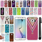 For Samsung Galaxy S6 Edge G925 TPU SILICONE Soft Protective Case Cover + Pen