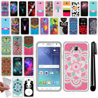For Samsung Galaxy J7 J700 TPU SILICONE Rubber Soft Protective Case Cover + Pen