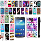 For Samsung Galaxy S4 Active I537 I9295 TPU SILICONE Protective Case Cover + Pen