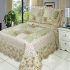 Upland Oversize Luxurious Coverlet Set Luxury Microfiber Quilt by Royal Hotel