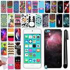 For Apple iPod Touch 5 5th 6 6th Gen TPU SILICONE Protective Case Cover + Pen