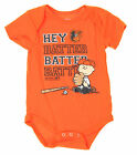 MLB Infant Baltimore Orioles Peanuts Love Baseball Creeper, Orange on Ebay