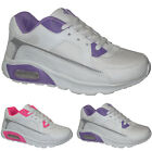 NEW LADIES GIRLS SPORTS SHOES GYM JOGGING RUNNING CASUAL FITNESS TRAINERS SIZES