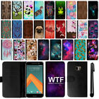 For HTC 10 One M10 Magnetic Flip Wallet Leather POUCH Case Phone Cover + Pen
