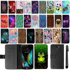 For LG K10 L62VL Design Magnetic Flip Wallet Leather POUCH Case Phone Cover +Pen