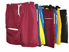 MENS SWIMMING SHORTS / TRUNKS COLOURED PLAIN COTTON MESH LINED SIZE  X-LARGE