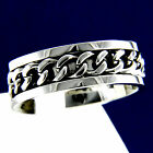 New Stainless Steel Chain Mens Engagement Wedding Anniversary Band Ring