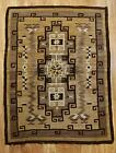 Antique Western 19thC Finely Hand Woven Navajo American Indian Wool Rug, NR