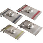 PVC Insulation Bowl Placemats Dining Pad Western Table Mats Sales