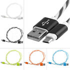 Inner Braided USB Fast Charge Cable Data Sync 2A Charger Cord Fr Android Samsung
