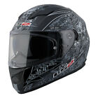 LS2 FF320 Full Face Motorcycle Helmet Anti-Hero Graphic