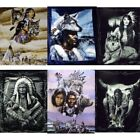 "Artists Native Nations 79"" x 95"" Super Plush Faux Mink Blanket - in 10 Styles"