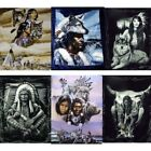 """Artists Native Nations 79"""" x 95"""" Super Plush Faux Mink Blanket - in 10 Styles"""