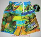 TEENAGE MUTANT NINJA TURTLES Boys 4 5 6 7 Shorts SWIM TRUNKS Bathing Suit