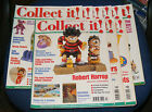 COLLECT IT! MAGAZINE VARIOUS ISSUES 2000-2002