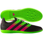 adidas Ace 16.3 IN Indoor  2016 Low Soccer Shoes Brand New Black / Pink / Green