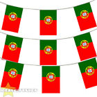 PORTUGAL BUNTING 33,100,200,400FT LARGE DECORATION NATIONAL COUNTRY FLAG