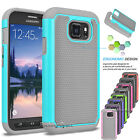 Samsung Galaxy S7 Active G891 Case Hybrid Rugged Rubber Armor Impact Hard Cover