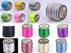 40m 1.5~2.0mm Rattail Satin Nylon Cord Macrame Beading Thread Craft Bracelet DIY