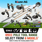 Baumr-AG Pole Chainsaw Hedge Trimmer Brush Cutter Whipper Snipper Multi Tool