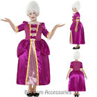 CK737 Horrible Histories Georgian Kids Child Girls Book Week Fancy Dress Costume