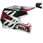 Bell Moto-9 Carbon Flex Syndrome Motocross Helmet Off Road Removable Washable