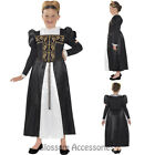 CK738 Horrible Histories Mary Stuat Child Girls Book Week Fancy Dress Up Costume