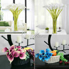 10 Nice Artificial Calla Lily Real Touch Flower Home Decor Wedding Bouquets DIY