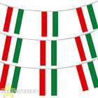 HUNGARY EURO FOOTBALL 2016 COUNTRY BUNTING 33FT LARGE FLAG DECORATION 20 FLAGS
