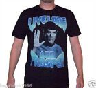 Star Trek Spock Live Long and Prosper Men's Distressed T-shirt (NEW)  ST13