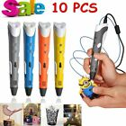 Big Sale! 10 X Four Color 3D Printing Pen Stereoscopic Drawing + Free Filaments