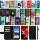 For Samsung Galaxy S6 Active G890 Flip Wallet Leather POUCH Case Cover + Pen
