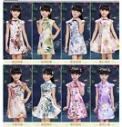 New Arrival Lovely Chinese Traditional Style Flower Cheong-sam Dress For Kids An