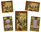 ITALIAN GREEN OLIVES - TUSCAN KITCHEN HOME DECOR LIGHT SWITCH PLATE