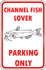 Channel Fish Parking Only Aluminum METAL Sign $38.99 USD
