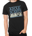 Adolescents - Logo and Band Photo Fitted T-Shirt - Brand New